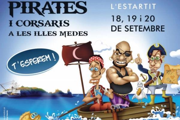 Feria piratas en Estartit