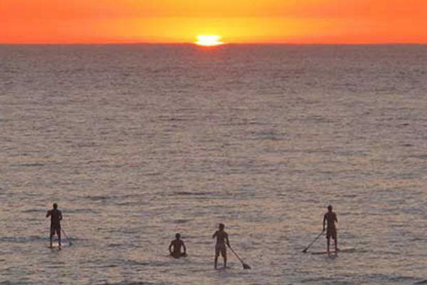 Paddle surf desde nuestros apartamentos de alquiler en el Estartit