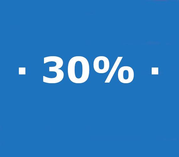 Reservas de 21 noches o mas 30% de descuento
