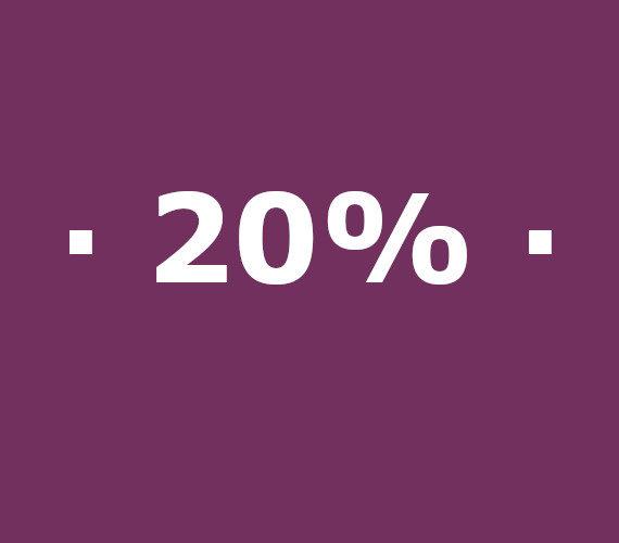 Reservas de 14 a 20 noches 20% de descuento