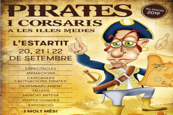 "Nueva edición  de la ""Fira de Pirates i Corsaris de les Illes Medes"" – Septiembre 2019"