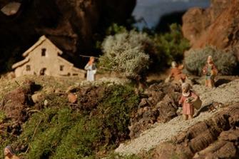 Muestra de Belén en el Museo de la Mediterránea