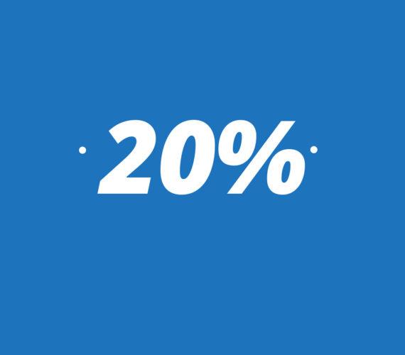 20% descuento en estancias a partir de 7 noches