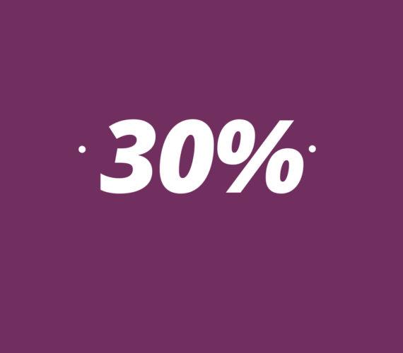30% descuento en estancias a partir de 14 noches