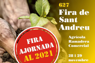 La Fira de Sant Andreu aplazada para el 2021 – Noviembre 2020