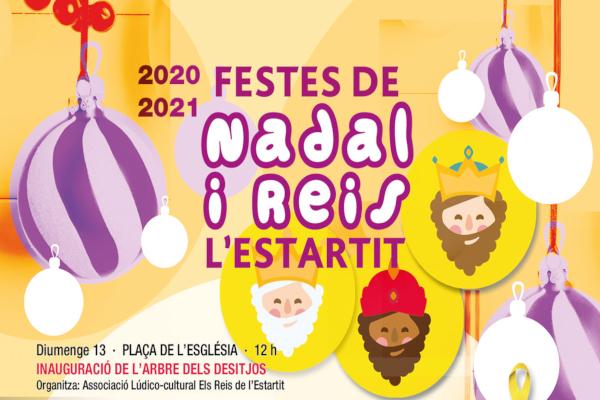 Fiestas de Navidad y Reyes en l'Estartit 20-21 – Diciembre 2020