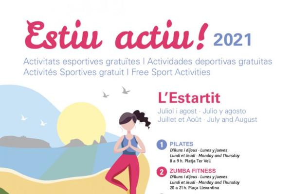 ¡Verano activo! Actividades deportivas julio y agosto en l'Estartit – Julio 2021